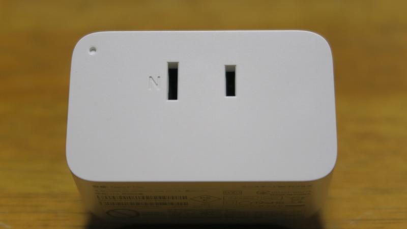 TP-Link WiFi スマートプラグTapo P105の外寸および仕様